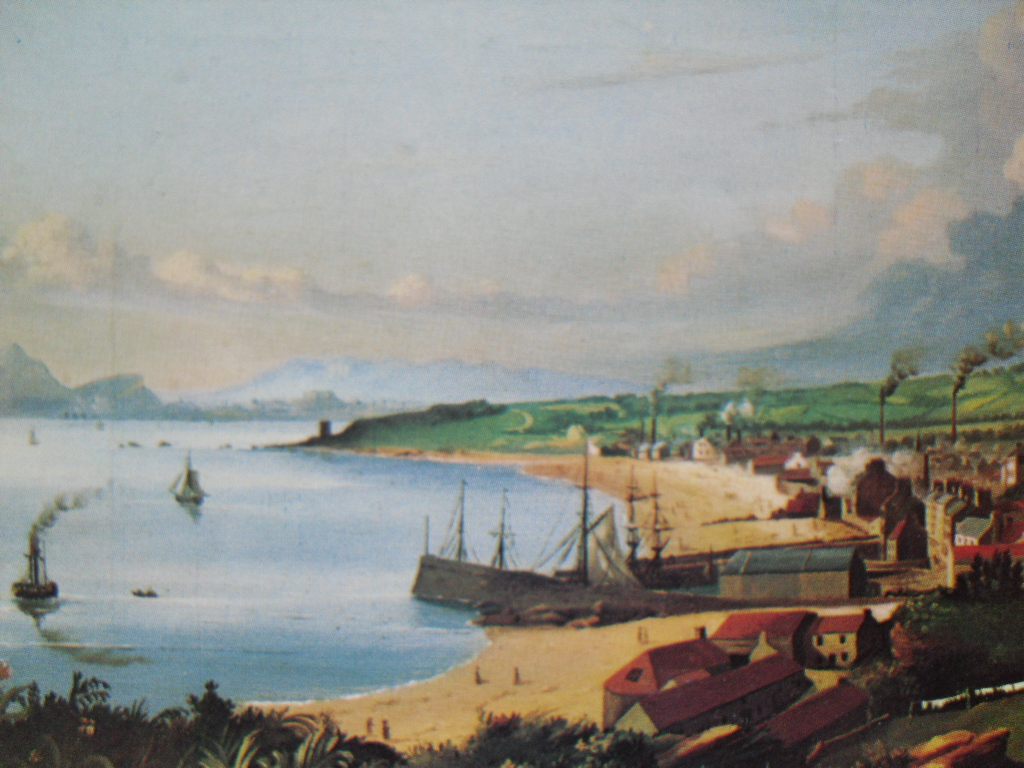 Kirkcaldy fronm the EAST, 1838