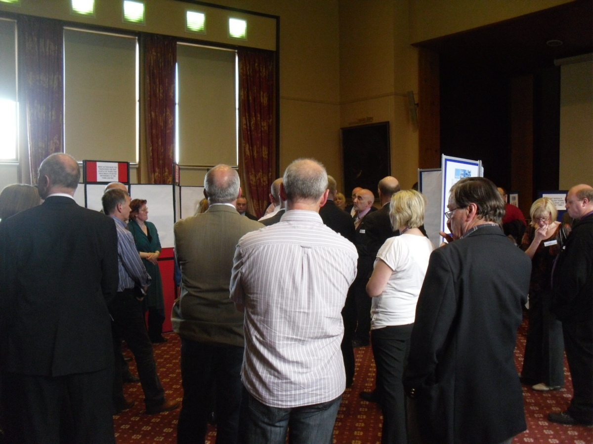 KIRKCALDY'S AMBITIONS EVENT at the TOWN HOUSE KIRKCALDY