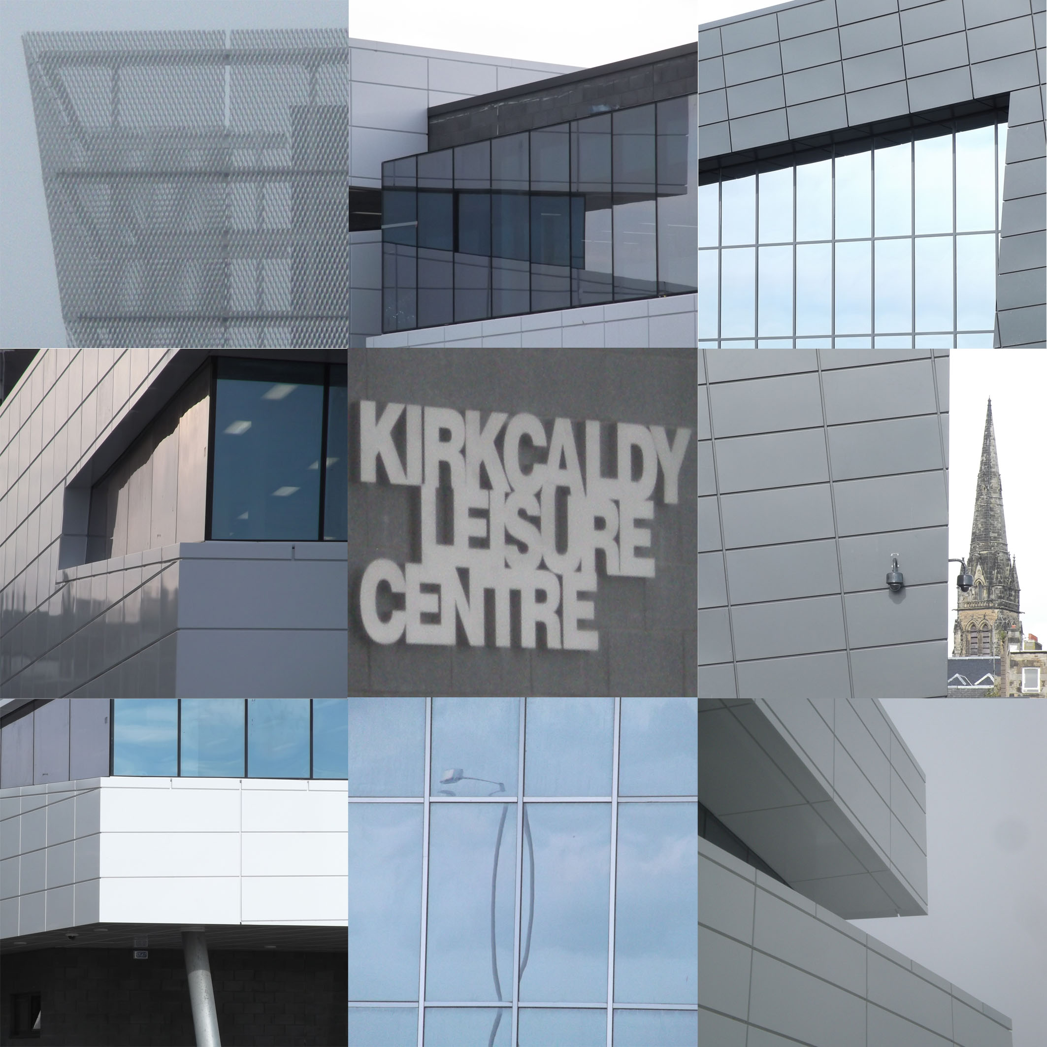 6 new kirkcaldy leisure centre 3 x 3 grid  18cm x 18cm