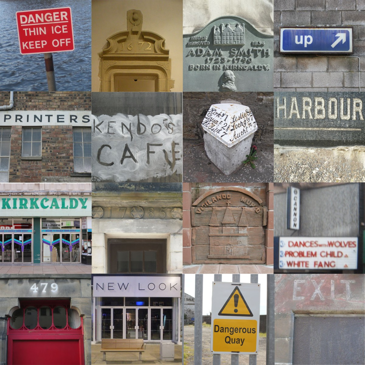 SIGNS TELL STORIES TOO